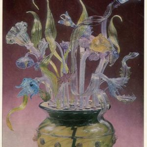 Glass bouquet, 1987