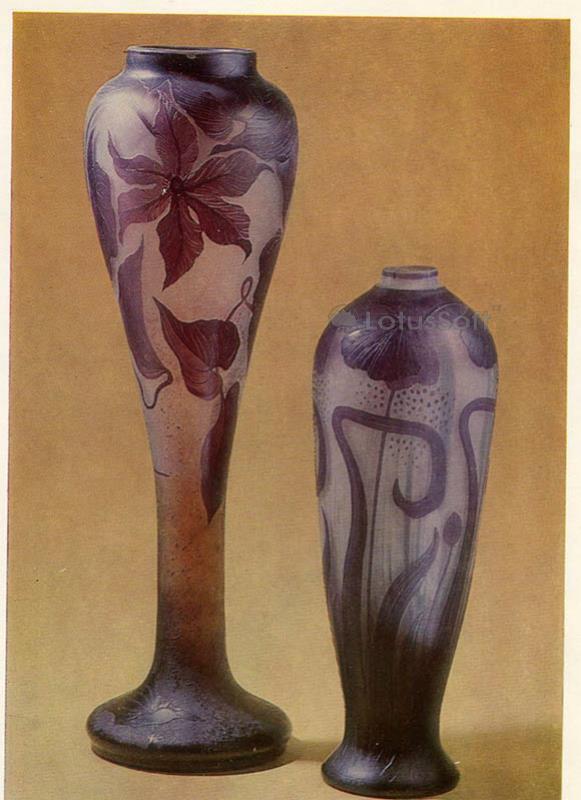 Decorative vases, 1987
