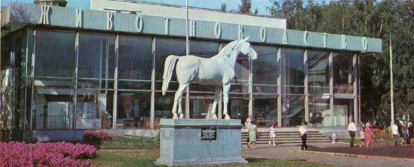 Livestock Pavilion. Exhibition of Economic Achievements of the USSR, 1977