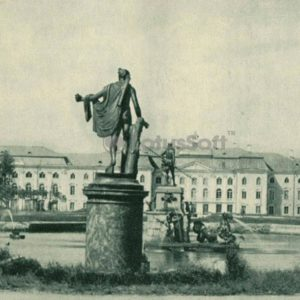 """""""Римские Фонтаны"""" 1944 год. Петродворец, 1970 год"""
