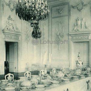 Grand Palace. White Dining Room. Peterhof, 1970