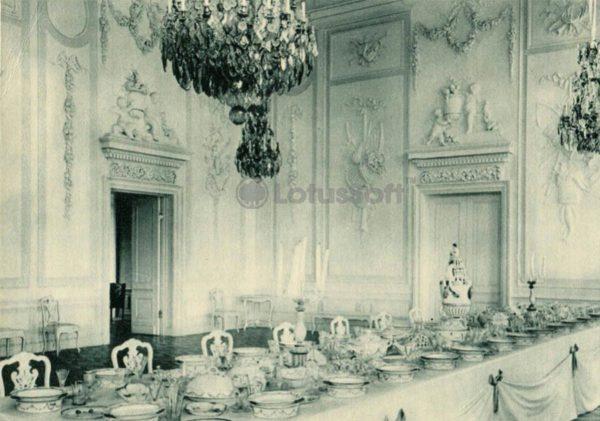 Большой дворец. Белая столовая. Петродворец, 1970 год