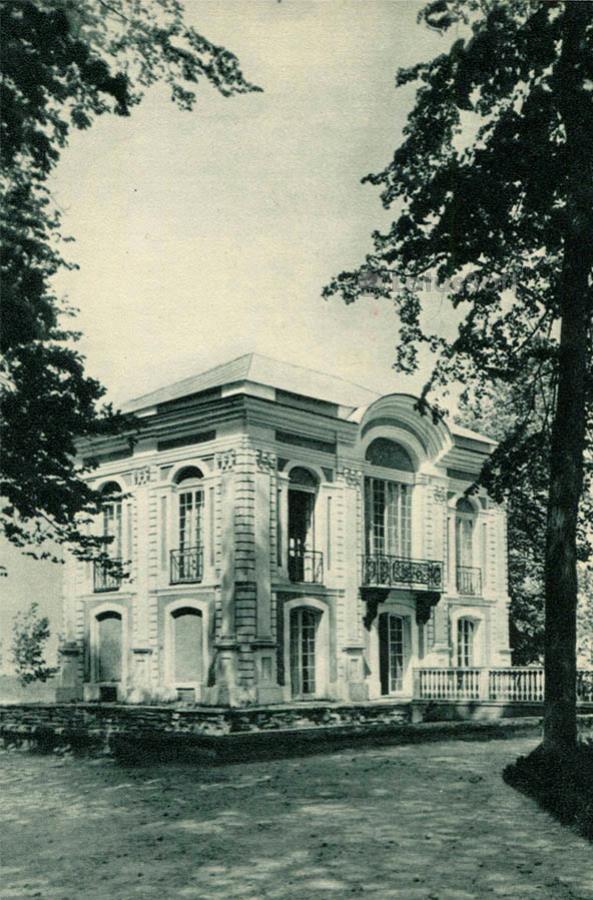Павильон Эрмитаж. Петродворец, 1970 год