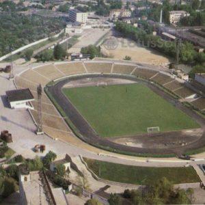 """Стадион """"Локомотив"""". Симферополь, 1984 год"""