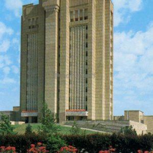 Обком КП Узбекистана. Бухара, 1989 год