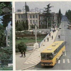 Monument to the Hero of the Soviet Union Isrfilu Mammadov. A. Japaridze Street (1984)