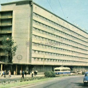 """Lviv"" hotel. Lvov, 1970"