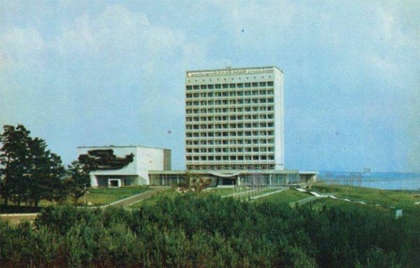 У Минского моря. Минск, 1980 год