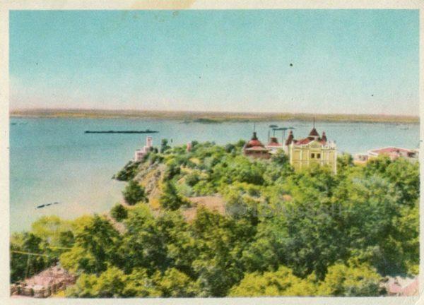 Вид на реку Амур. Хабаровск, 1965 год