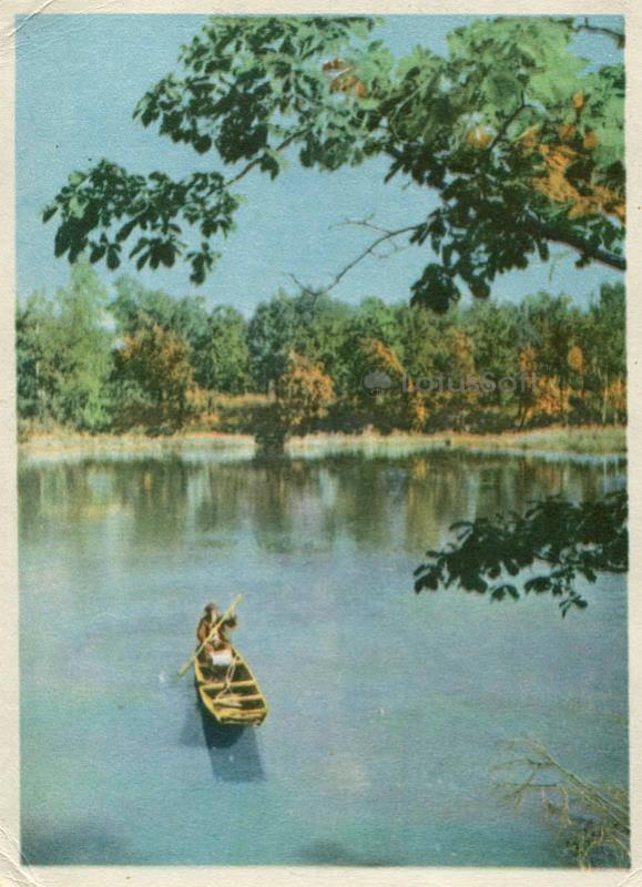 Проток Амура. На рыбалке, 1965 год