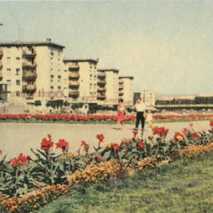Проспект Ленина. Днепрожзежинск, 1969 год