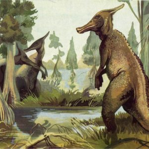 Saurolophus, 1983
