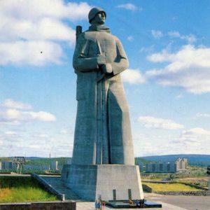 """Memorial """"Alyosha Monument"""". Murmansk, 1988"""