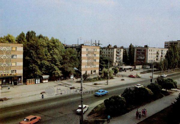Улица Дзежинского. Таганрог, 1989 год