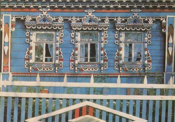 Деревянное зодчество. Ростов Великий, 1984 год