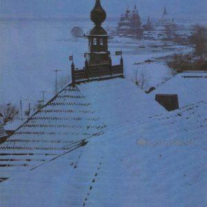 Вид на Спасо-Яковлевский монастырь со стороны Кремля. Ростов Великий, 1984 год