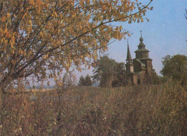 Церков Иоанна Богослова на реке Ишне. Ростов Великий, 1984 год