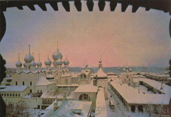 Панорама города. Ростов Великий, 1984 год