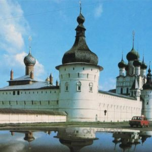 Стены и башни Ростовского Кремля. Ростов Великий, 1984 год