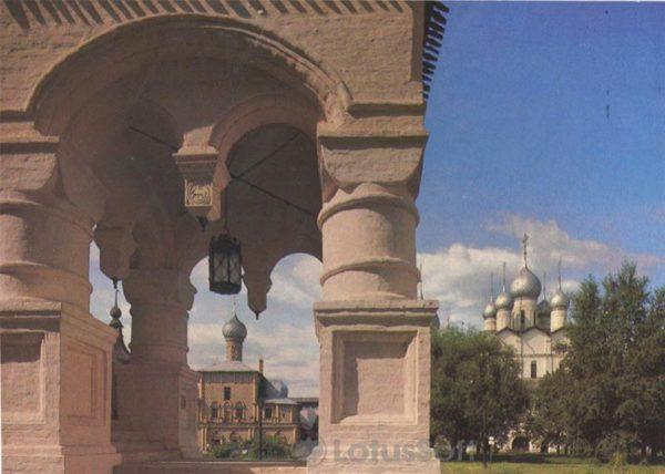 Крыльцо Красной палаты в Кремле, 1984 год