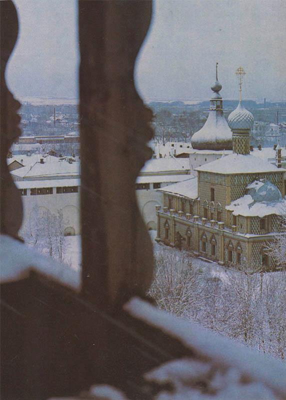 Церковь Одигитрии в Крмеле. Ростов Великий, 1984 год