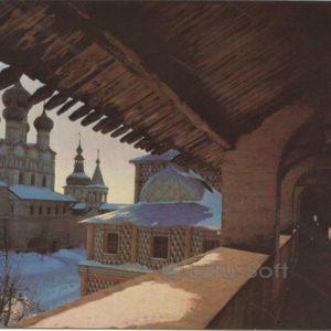 Skip the north wall Krmelya. Rostov Veliky, 1984