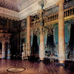 Голубой зал. Дворец-музей Останкино, 1968 год