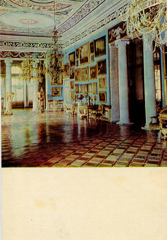 Картинная галерея. Дворец-музей Останкино, 1968 год
