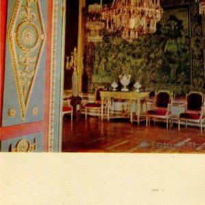 Малиновая гостиная. Дворец-музей Останкино, 1968 год