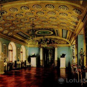 Проходная комната к итальянскому павильону. Дворец-музей Останкино, 1968 год