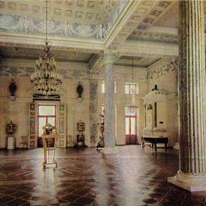 Концертный зал. Дворец-музей Останкино, 1968 год