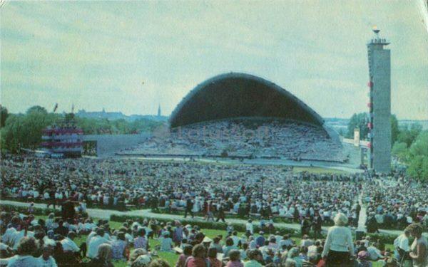 Певческое поле. Таллин, 1973 год