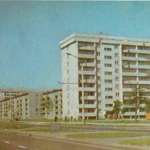 Жилой район Мустамяэ. Таллин, 1973 год