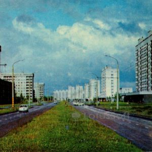 Новостройки в жилом районе Мустамяэ. Таллин, 1978 год