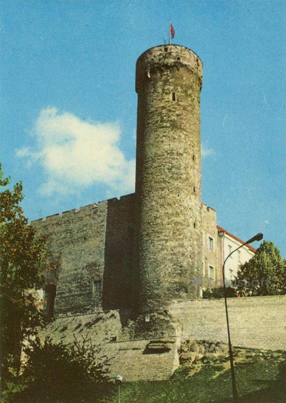"""Башня """"Длинные Герман"""". Таллин, 1978 год"""