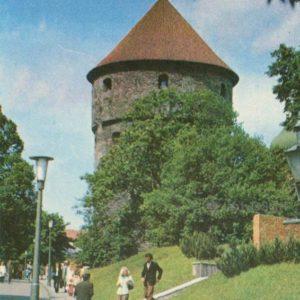 Орудийная башня Кик-ин-де-кёк. Таллин, 1978 год