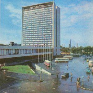 """Гостиница """"Виру"""". Таллин, 1978 год"""
