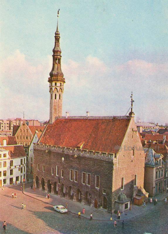 Таллинская ратуша. Таллин, 1978 год