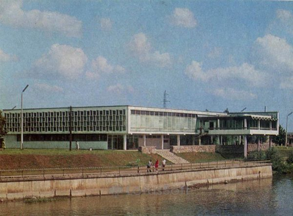 "Ресторан ""Каунас"". Тарту, 1978 год"