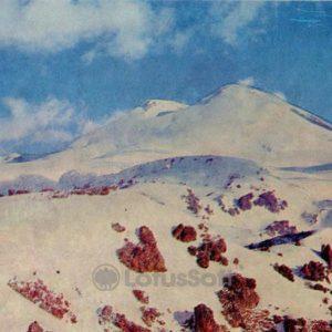 Mountain Elbrus. Kabardino-Balkaria, 1973
