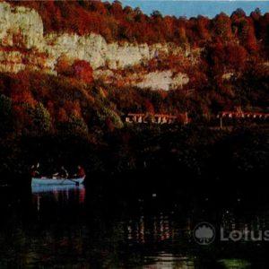 Blue Lake. Kabardino-Balkaria, 1973