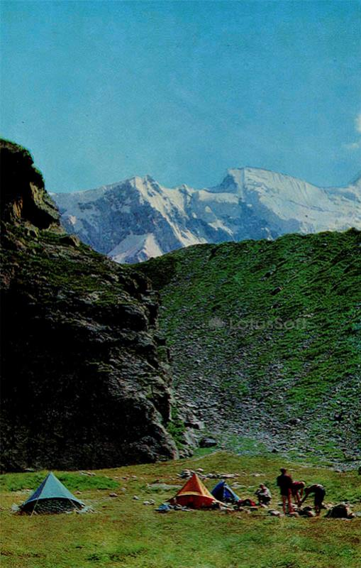 The upper valley Adil-su. Kabardino-Balkaria, 1973