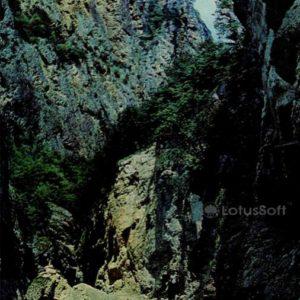 Chegem Gorge. Kabardino-Balkaria, 1973