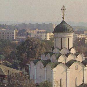 Cathedral of the Assumption Monastery Knyaginin. Vladimir, 1986