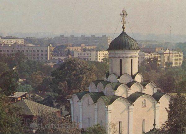 Успенский собор Княгинина монастыря. Владимир, 1986 год