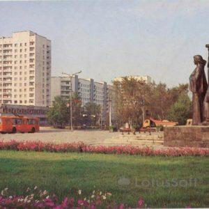 Площадь Победы. Владимир, 1986 год