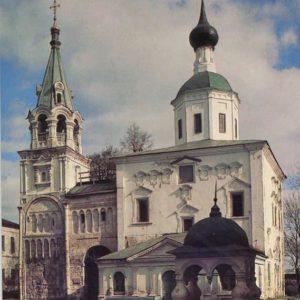 Stair tower. The village Bogolyubovo. Vladimir, 1986