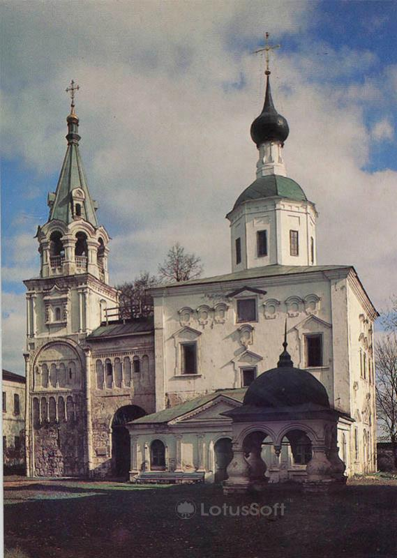 Лестничная башня. Село Боголюбово. Владимир, 1986 год