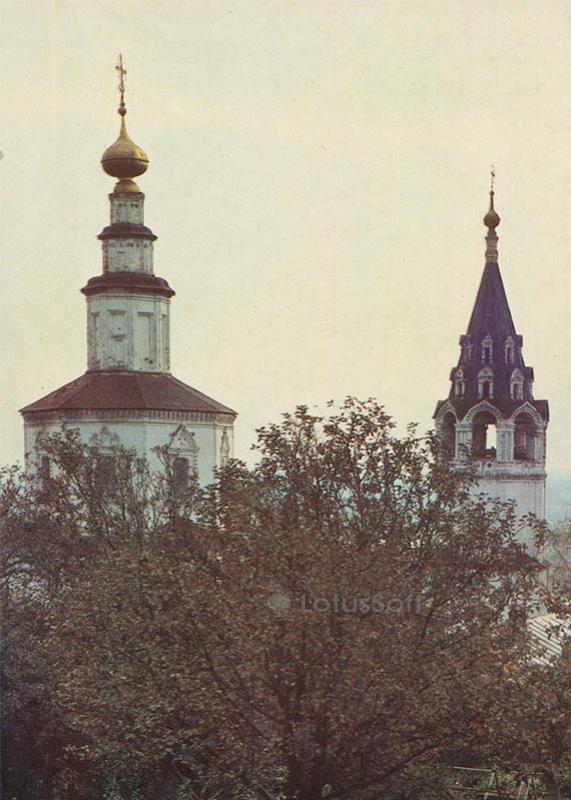 Церковь Николы в Галеях. Владимир, 1986 год