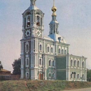 Nikita church. Vladimir, 1986